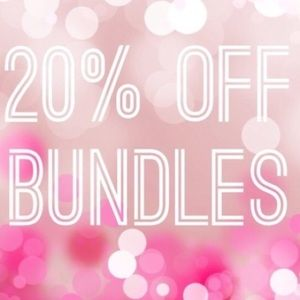 Bundle and Save 20%